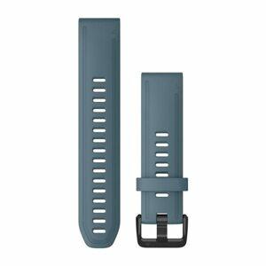 Garmin Řemínek Garmin QuickFit 20, silikonový, modrý, černá přezka - 010-12870-00