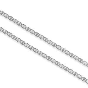 Stříbrný náhrdelník OKO broušené Velikost řetízku: 45 cm