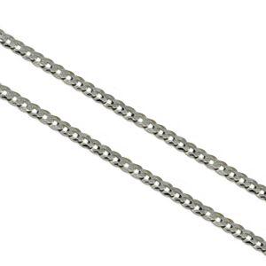 Stříbrný náhrdelník PANCER 100 Velikost řetízku: 55 cm