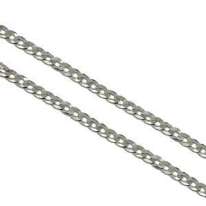 Stříbrný náhrdelník PANCER 140 Velikost řetízku: 50 cm