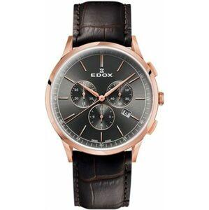 EDOX Les Vauberts Chronograph 10236-37RC-GIR