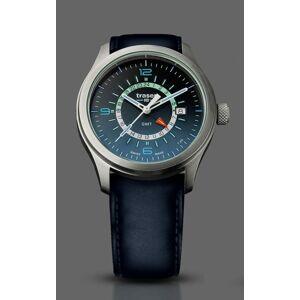 Traser Aurora GMT Blue - kůže