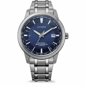 Citizen Elegant Worldtime Radio Controlled Titanium CB0190-84L